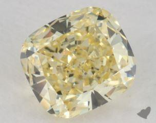cushion0.85 Carat  yellowVS1