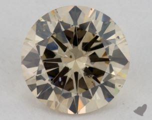 round1.81 Carat light brownSI2