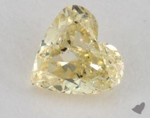 heart1.03 Carat fancy yellowI2