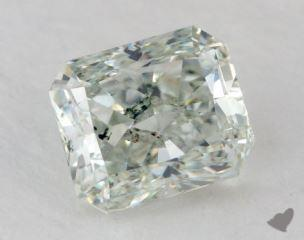 radiant0.94 Carat fancy light greenSI1