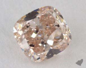 cushion1.05 Carat fancy pinkVS2