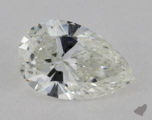 pear3.51 Carat IVVS2