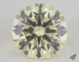 round0.38 Carat light yellowSI1