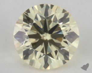 round0.40 Carat light yellowVS1