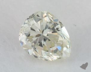 pear0.20 Carat light yellowSI1