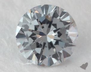round0.19 Carat fancy light gray