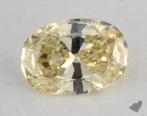 oval0.50 Carat fancy yellowSI1