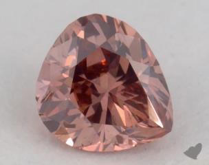 heart0.29 Carat  pinkSI1