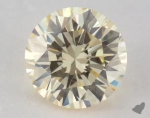 round0.70 Carat fancy light yellowVS2