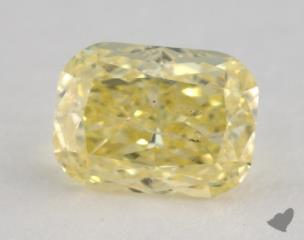 cushion1.04 Carat fancy intense yellowI2