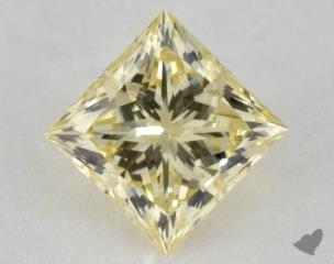 princess0.61 Carat fancy light yellowVS1