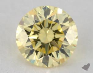 round0.67 Carat fancy yellowVS1