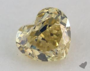 heart0.87 Carat fancy intense yellowSI2