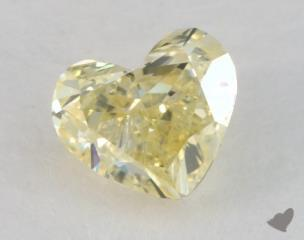 heart0.87 Carat fancy yellowSI1
