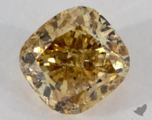 cushion1.20 Carat  yellowI1