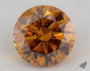 round0.52 Carat  orangeSI2