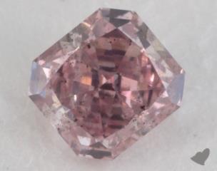 radiant0.44 Carat fancy intense pinkSI2