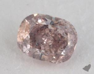 cushion0.44 Carat fancy pinkI1
