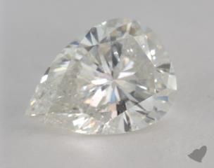 pear3.44 Carat JI1