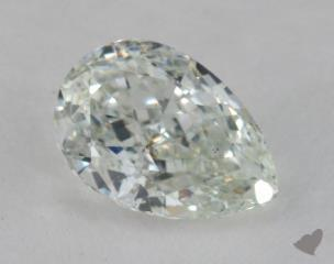 pear1.01 Carat light greenSI2