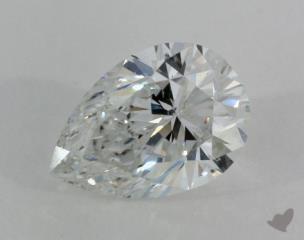 pear0.70 Carat FSI2