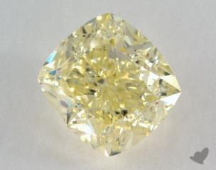 cushion0.84 Carat  yellowSI1