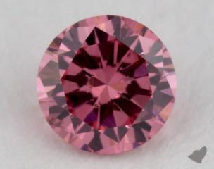 round0.16 Carat fancy intense purplish pinkSI2