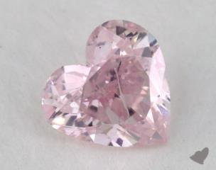 heart0.46 Carat fancy pink purple
