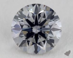 round0.50 Carat fancy gray blueVS1
