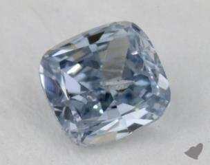 cushion0.20 Carat fancy intense blue