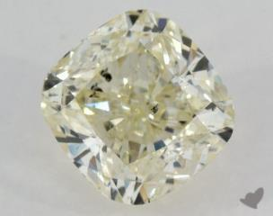 cushion1.04 Carat  yellowSI2