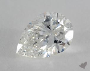 pear0.96 Carat HSI2