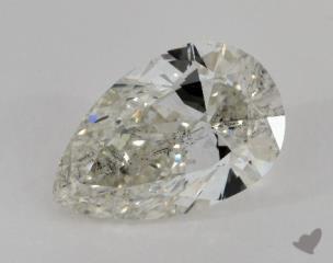 pear4.10 Carat JSI2