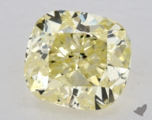 cushion0.90 Carat  yellowI1