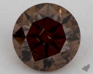 round0.70 Carat  orange SI2