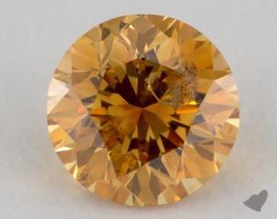round0.73 Carat  orangeI1