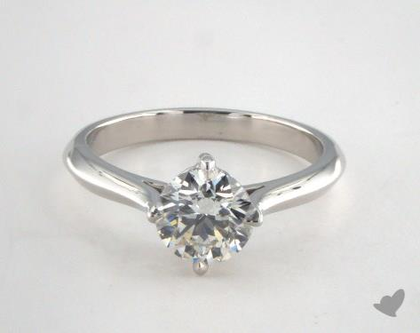Platinum  Solitaire Engagement Ring